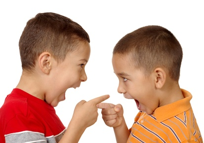 kids arguing 5 and 6 years old